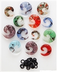 SPIN ART GLASS SPIRAL TAPERS