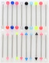 Acrylic Ball Industrials 100 Pack