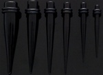 Black UV Tapers 100 Pack