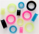 Earskin Flexible Silicone Tunnels 100 Pack