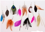 Feather Dangle Belly Ring
