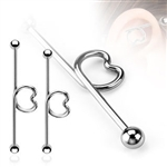Heart Loop Industrial Barbell