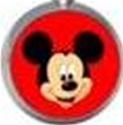 Mickey Logo Tongue or Belly Ring