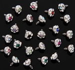 Wholesale Multigem CZ Dermal Tops