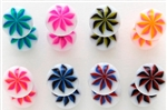 Ninja Star UV Tongue Rings