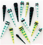 Pot Leaf Straight Tapers