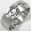 Scorpion Band Ring