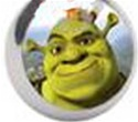 Shrek Logo Tongue or Belly Ring