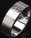 Spiderweb Band Ring