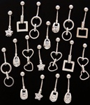 Vogue Dangle Belly Ring