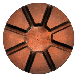 "3"" Copper Transition Diamond 70 Grit"