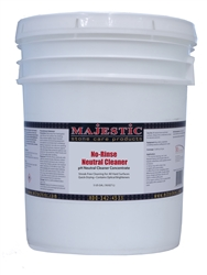 Majestic No Rinse pH NEUTRAL CLEANER CONCENTRATE 5 Gallon Stonecare