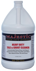 Heavy Duty Tile & Grout Cleaner (Acid Based) Gal