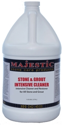 Majestic  Stone & Grout INTENSIVE Cleaner (Gal)