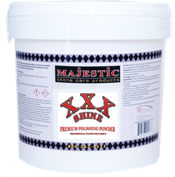 Majestic XXX Shine Polishing Powder for marble, travertine, and limestone (stone care)
