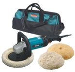 "Majestic Makita 7"" Electronic Sander 9237CX3 Kit"