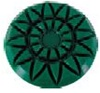 3 inch Majestic Rosette Diamond Polishing Pad 50 Grit for marble, travertine and stone