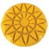 3 inch Majestic Rosette Diamond Resin Pad 400 Grit for Marble, terrazzo and stone