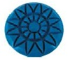 3 inch Majestic Rosette Diamond Resin Pad 1800 Grit for marble, terrazzo and stone