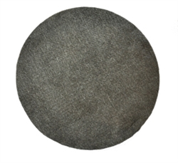 17 inch Needled Steel Wool Pads Grade 0