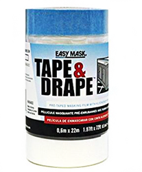 Easy Mask Tape and Drape Case of 12 Rolls