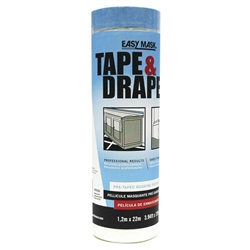 Easy Mask Tape and Drape Case of 6 Rolls