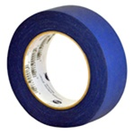 Quick release blue masking tape