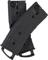 Tippmann .50 Cal TMC Magazine 2 Pack with Coupler - Black