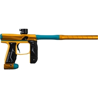 Empire Axe 2.0 Paintball Gun - Dust Orange w/ Dust Aqua