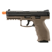 HK VP9 Gas Blowback 6mm Airsoft Pistol - Black & FDE