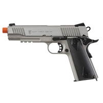 Elite Force 1911 TAC CO2 Blowback Gen3 Pistol - Stainless