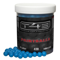 Training For Engagement .43 Caliber Paintballs - Blue