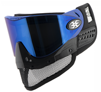 Empire E-Mesh Airsoft Goggle - Black w/ Mirror Blue Lens