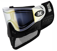 Empire E-Mesh Airsoft Goggle - White w/ Mirror Gold Lens