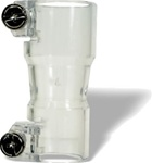 Spyder Vertical Elbow With Screws - Clear