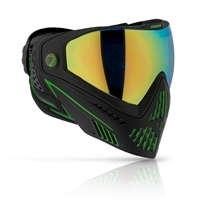 Dye i5 2.0 Paintball Mask - Emerald (Black/Green)
