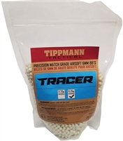 Tippmann 6mm Tracer BBs - Light Green - 1KG Bag - .32G