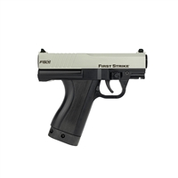 First Strike Compact Pistol - Black & Silver