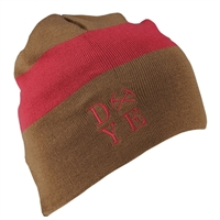 Dye 3AM Beanie, Earth/Maroon