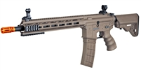 Tippmann Recon AEG Carbine 14.5 in. Barrel M-Lok Shroud - Tan (US Orange TIP)