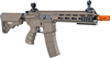 Tippmann Recon AEG CQB 9.5 in. Barrel M-Lok Shroud - Tan - Orange Tip