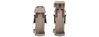 Quick Release Flash Bang Grenade Holster for MOLLE - Dark Earth