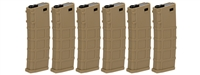 Lonex 30 Round Real-Cap M4/M16 Magazine 6 Pack