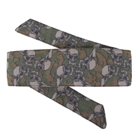 HK Army Hostilewear Headband - Skulls - Forest