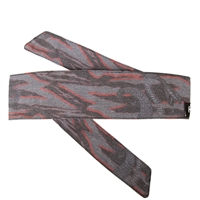 HK Army Hostilewear Headband - Snakes - Grey & Red