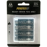 Imedion 4 pack AA Rechargeable batteries