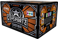GI Sportz Custom Blend Paintballs - Full Case