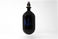 Ninja SL2 Carbon Fiber Air Tank - 68/4500 with ProV2 Regulator - Black / Blue