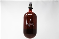 Ninja SL2 Carbon Fiber Air Tank - 77/4500 with ProV2 Regulator - Red