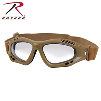 Rothco ANSI Rated Tactical Goggles - Coyote